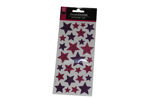 Picture of ستيكر لاصقة - نجوم ملونة