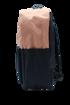 صورة شنطة ظهر و مقلميه - وردي + كحلي